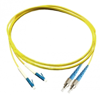Оптический шнур CareLink CL-PC-FC/UPC-LC/UPC-SM-D-2.0-2m