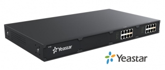 Yeastar S100 - IP АТС, 100 SIP, 16 FXO/FXS, 8 GSM/UMTS, 16 BRI, 2 E1/T1