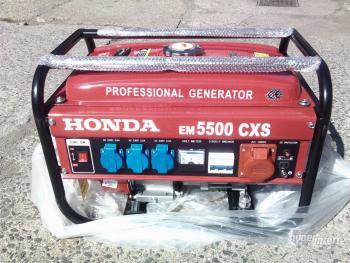 Бензиновый генератор Honda EM 5500CXS